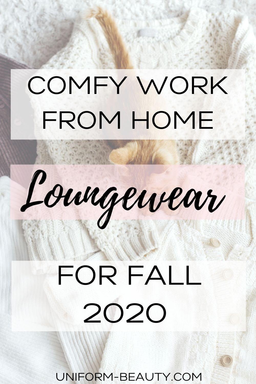 WORK FROM HOME LOUNGEWEAR