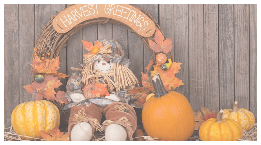 Affordable Fall Decoration for front porch
