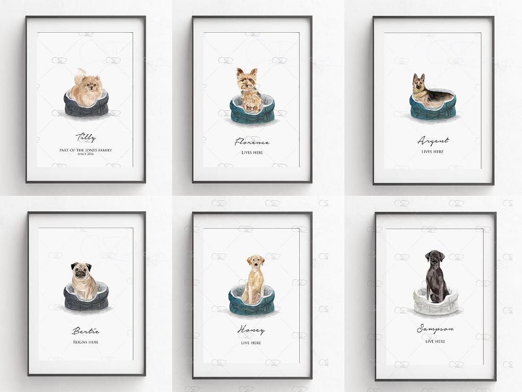 Dog Print Gifts