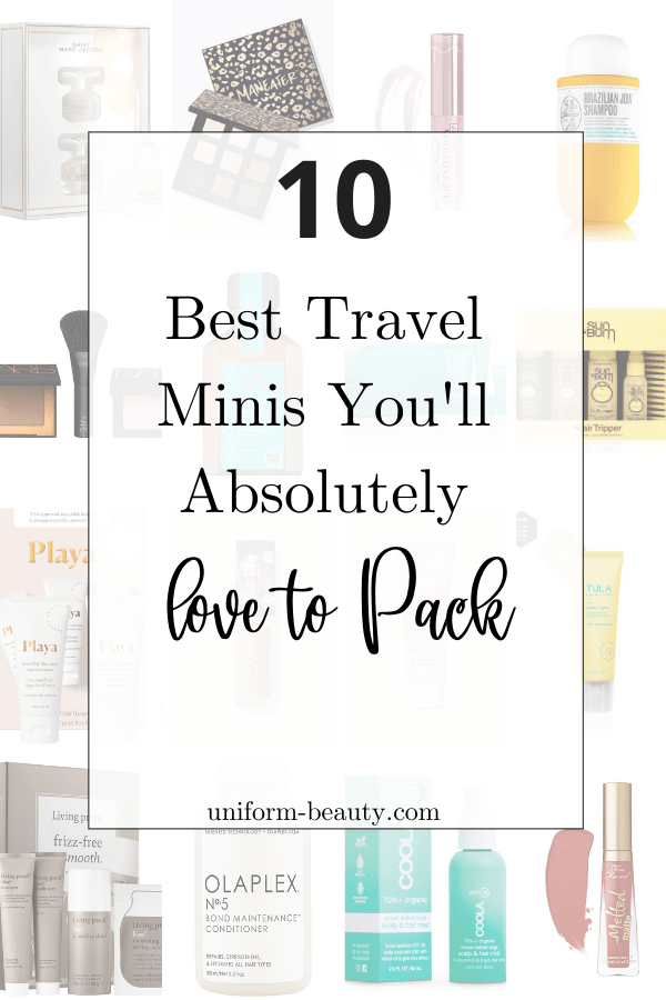 Travel Toiletries For Beach vacation