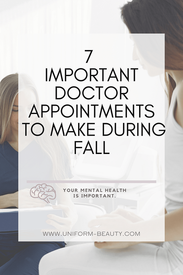 Doctor Appointments Every Women Should Make This Fall